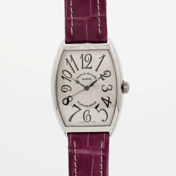 "FRANCK MULLER men's watch ""Curvex"" platinum. Automatic Plant. - photo 1"