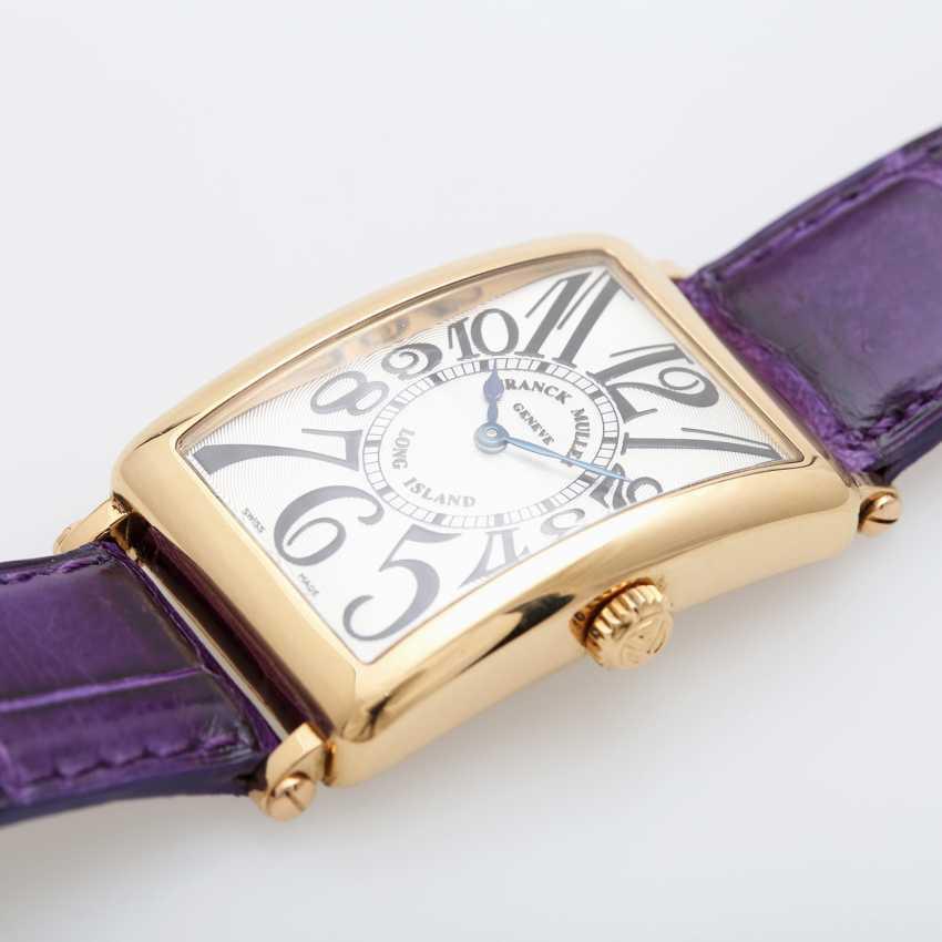"FRANCK MULLER wrist watch ""Long Island"" in yellow gold 18K. - photo 3"