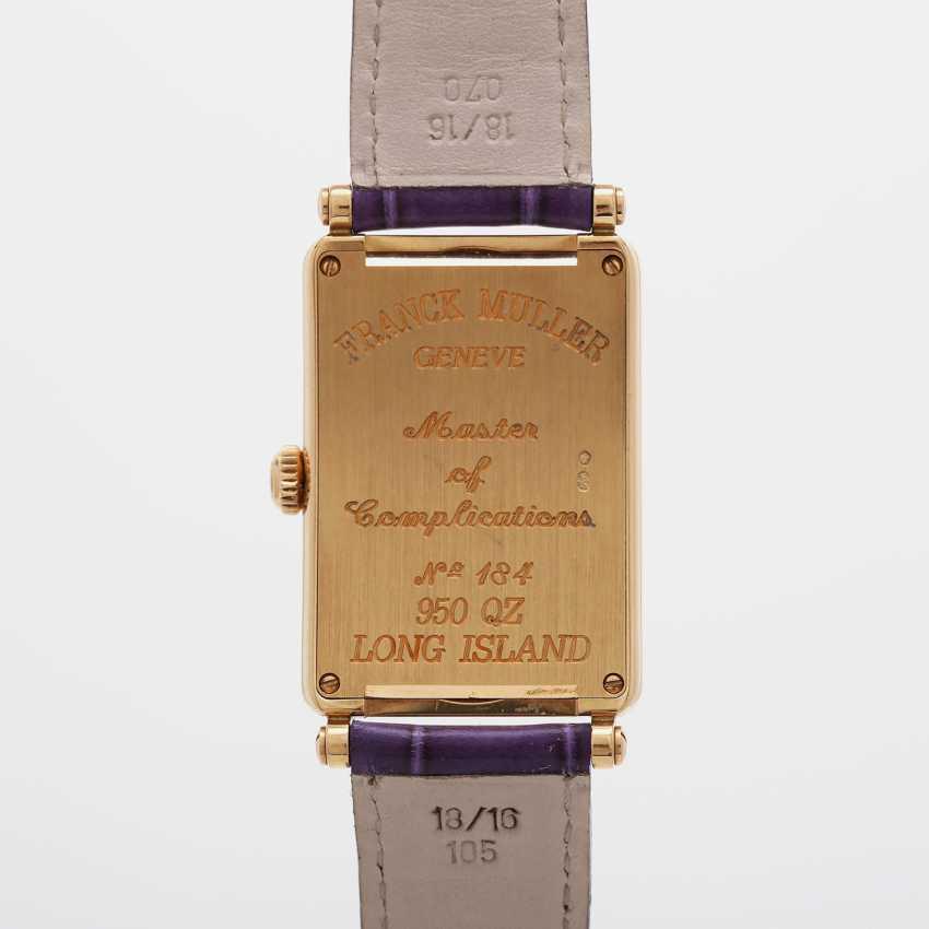 "FRANCK MULLER wrist watch ""Long Island"" in yellow gold 18K. - photo 5"