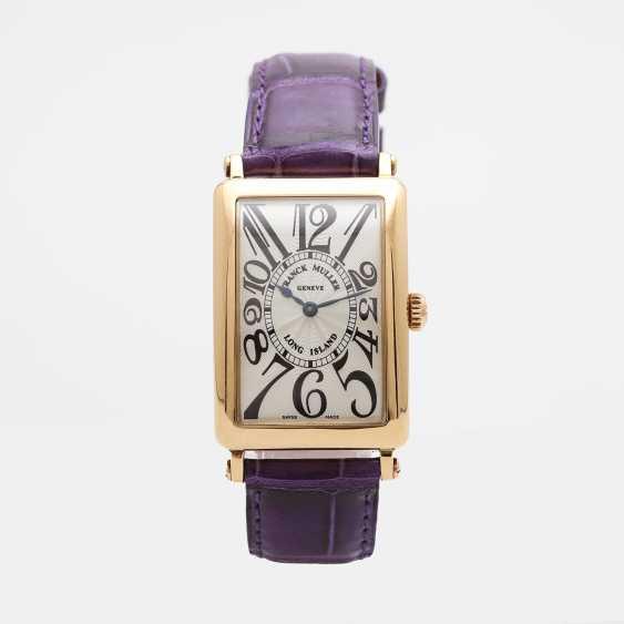 "FRANCK MULLER wrist watch ""Long Island"" in yellow gold 18K. - photo 2"