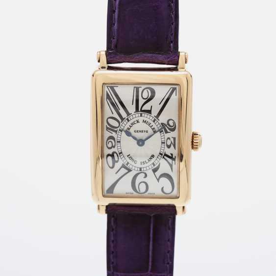 "FRANCK MULLER wrist watch ""Long Island"" in yellow gold 18K. - photo 1"