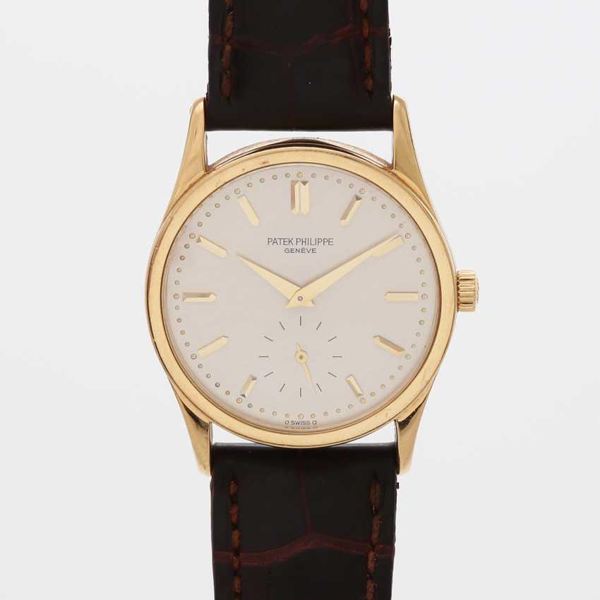 "PATEK PHILIPPE wristwatch ""Calatrava"" in yellow gold 18K. Ref. 3796. - photo 1"