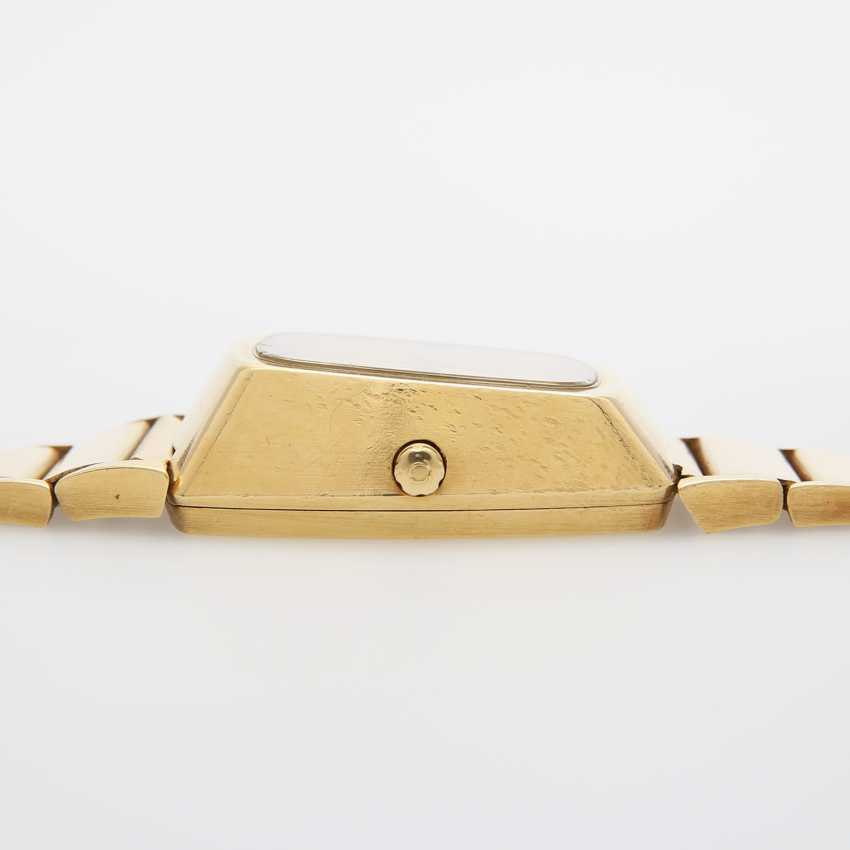 """OMEGA men's watch """"electro-quartz"""", CA. early 1970s, in yellow gold 18K. - photo 4"""