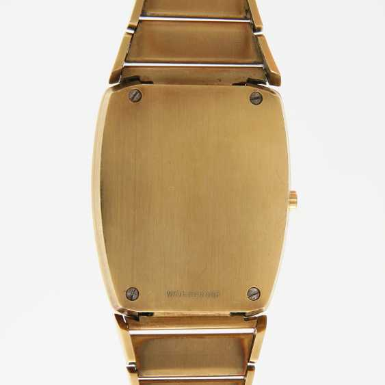 """OMEGA men's watch """"electro-quartz"""", CA. early 1970s, in yellow gold 18K. - photo 5"""