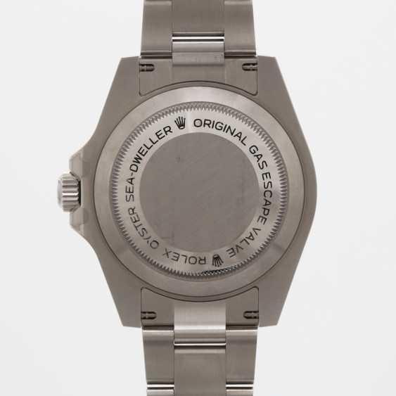 """ROLEX men's watch """"Sea-Dweller"""", stainless steel. Ref.: 116600. - photo 6"""
