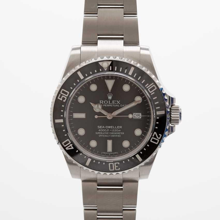 """ROLEX men's watch """"Sea-Dweller"""", stainless steel. Ref.: 116600. - photo 1"""