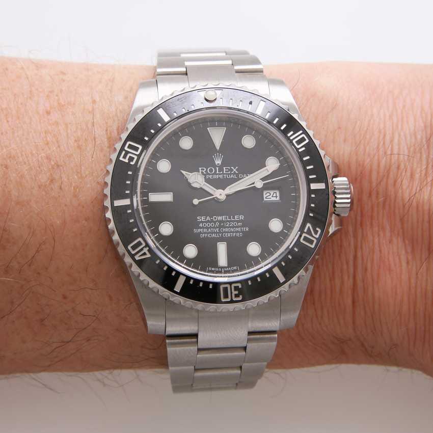 """ROLEX men's watch """"Sea-Dweller"""", stainless steel. Ref.: 116600. - photo 5"""