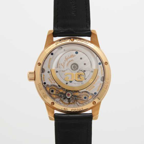 "GLASHÜTTE ORIGINAL men's watch ""panomatic date"" in yellow gold 18K. - photo 5"