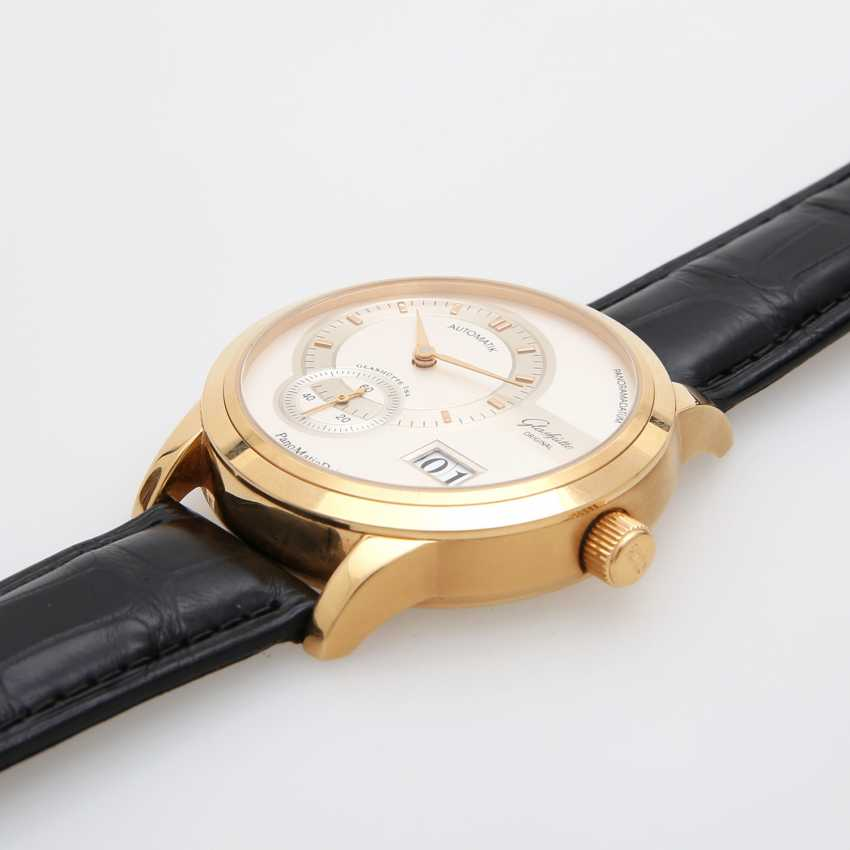 "GLASHÜTTE ORIGINAL men's watch ""panomatic date"" in yellow gold 18K. - photo 4"