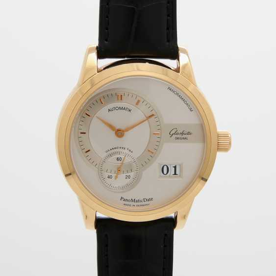 "GLASHÜTTE ORIGINAL men's watch ""panomatic date"" in yellow gold 18K. - photo 1"