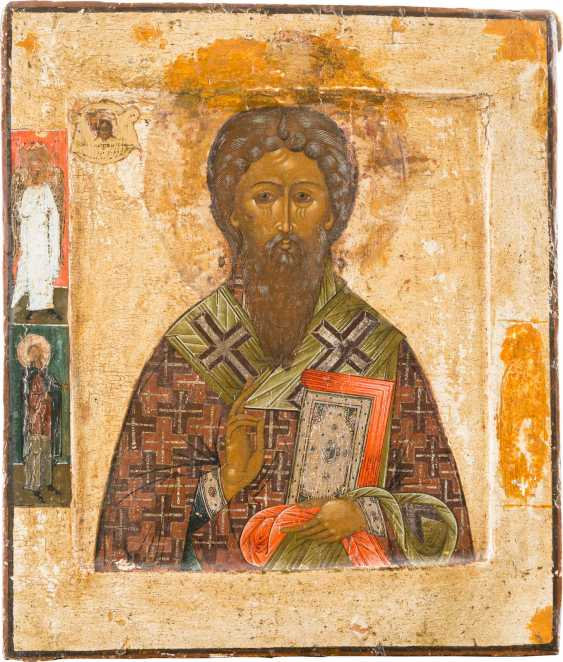 ICON WITH THE HOLY ANTIPAS - AN AID AGAINST TOOTHACHE - photo 1