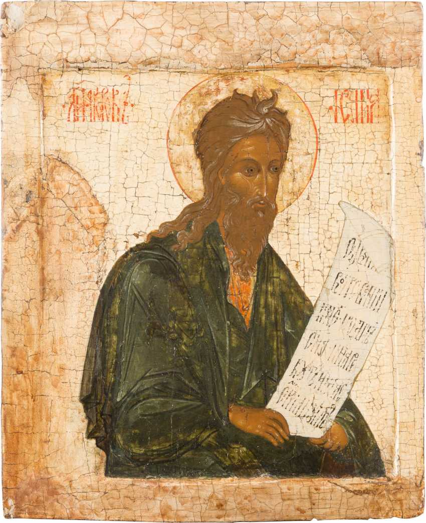ICON WITH THE PROPHET ISAIAH - photo 1