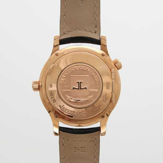 "JAEGER LE COULTRE men's watch ""Master Geographic"", 2000, in Fine Gold 18K. - photo 4"
