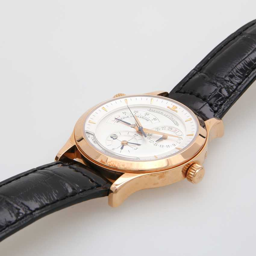 "JAEGER LE COULTRE men's watch ""Master Geographic"", 2000, in Fine Gold 18K. - photo 3"