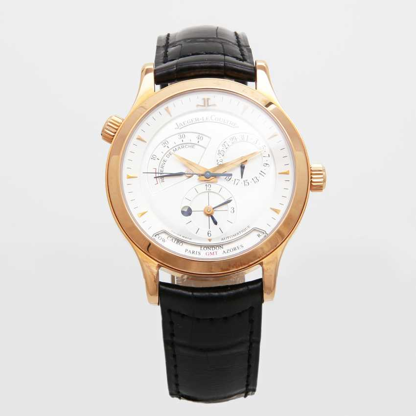 "JAEGER LE COULTRE men's watch ""Master Geographic"", 2000, in Fine Gold 18K. - photo 1"