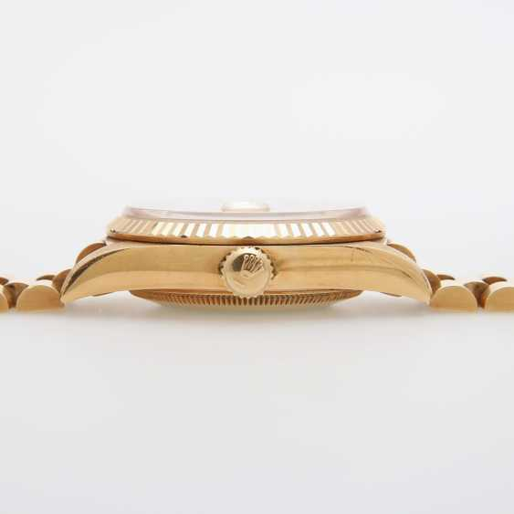 ROLEX mens watch Day Date, CA. 1995/96, in yellow gold 18K. - photo 4