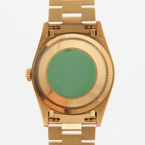 ROLEX mens watch Day Date, CA. 1995/96, in yellow gold 18K. - photo 5