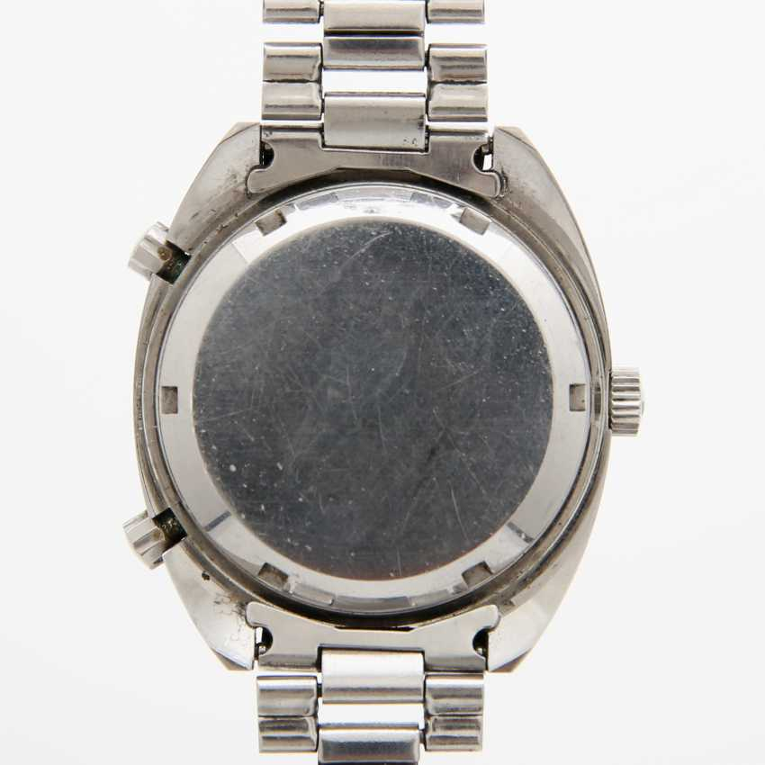 """HEUER men's watch """"Autavia"""", CA. late 1960's/early 1970's. Stainless steel. Ref. 1163V. - photo 5"""