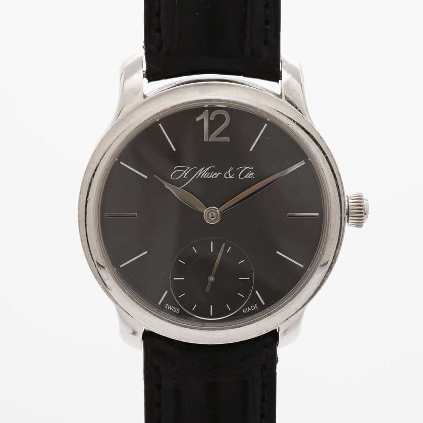 "H. MOSER & CIE wrist watch ""Mayu"". Case Platinum. - photo 1"