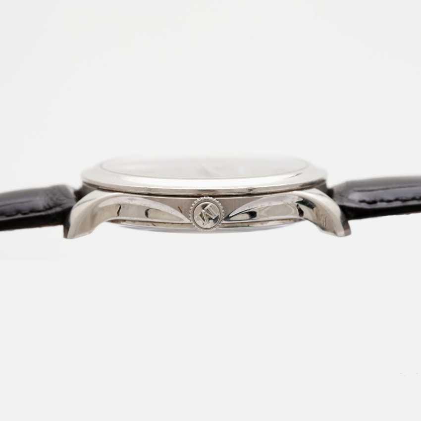 "H. MOSER & CIE wrist watch ""Mayu"". Case Platinum. - photo 4"
