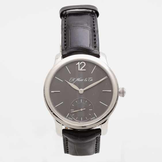 "H. MOSER & CIE wrist watch ""Mayu"". Case Platinum. - photo 2"