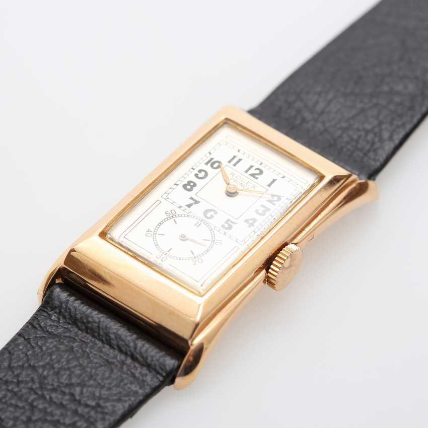 "ROLEX men's watch ""Prince"", CA. 1930/40s. Housing rose Gold 18K. Ref. 1490. - photo 3"