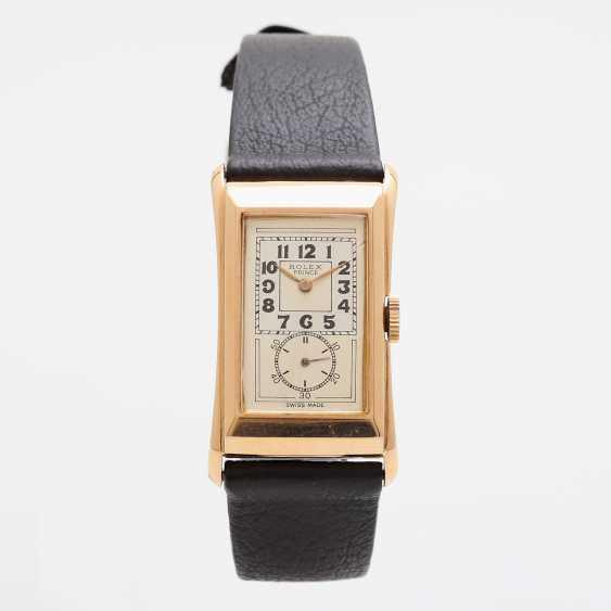 "ROLEX men's watch ""Prince"", CA. 1930/40s. Housing rose Gold 18K. Ref. 1490. - photo 2"