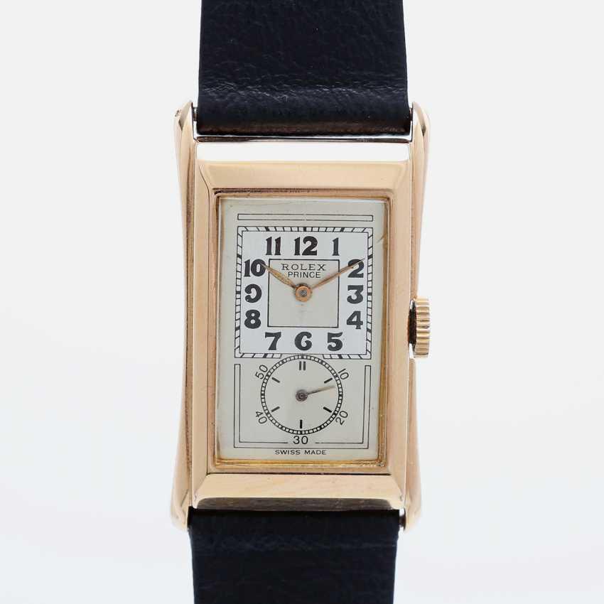 "ROLEX men's watch ""Prince"", CA. 1930/40s. Housing rose Gold 18K. Ref. 1490. - photo 1"