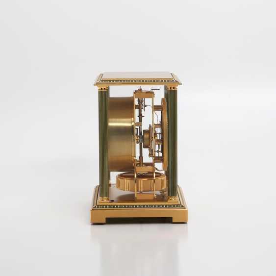 "JAEGER LE COULTRE Tischuhr ""Atmos 3"". MessinGelbgoldehäuse/vergoldet. - photo 4"