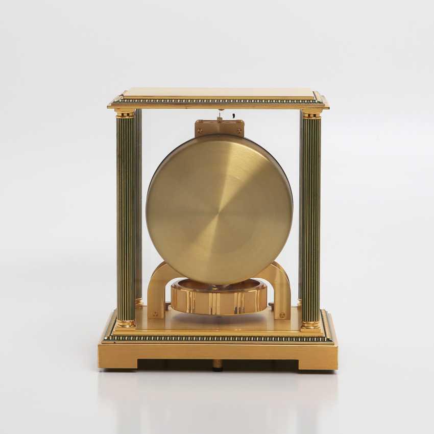 "JAEGER LE COULTRE Tischuhr ""Atmos 3"". MessinGelbgoldehäuse/vergoldet. - photo 5"