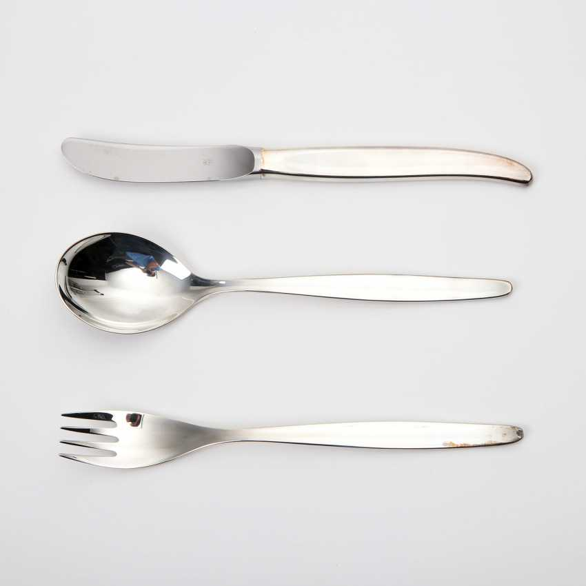 WMF dining Cutlery for 12 people 'Stockholm', 925 silver. - photo 5