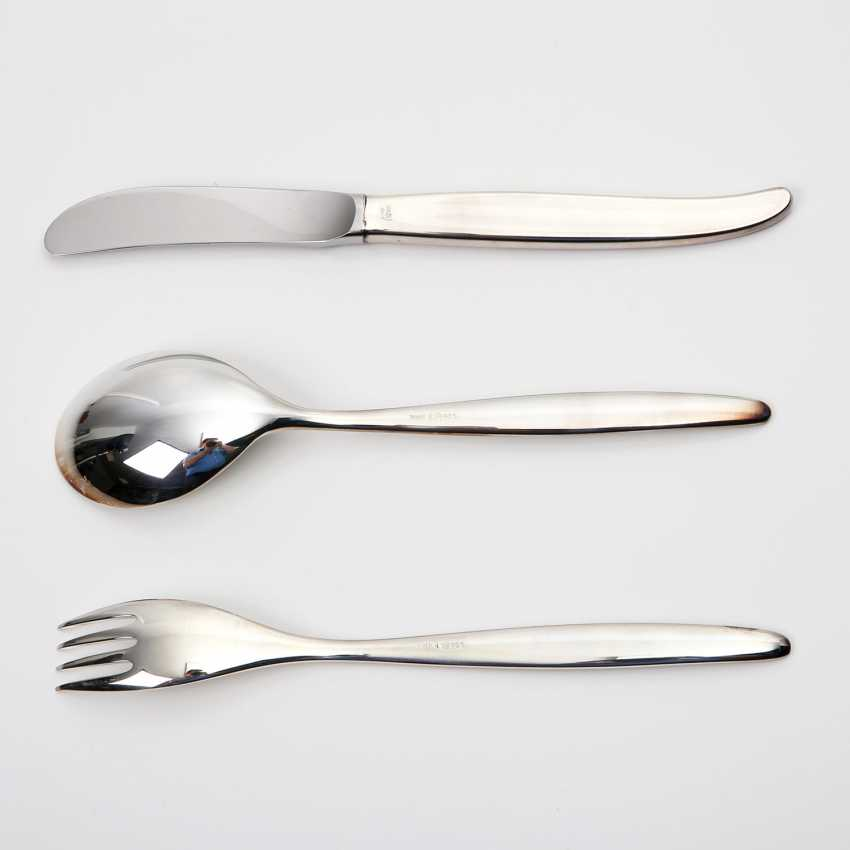 WMF dining Cutlery for 12 people 'Stockholm', 925 silver. - photo 6