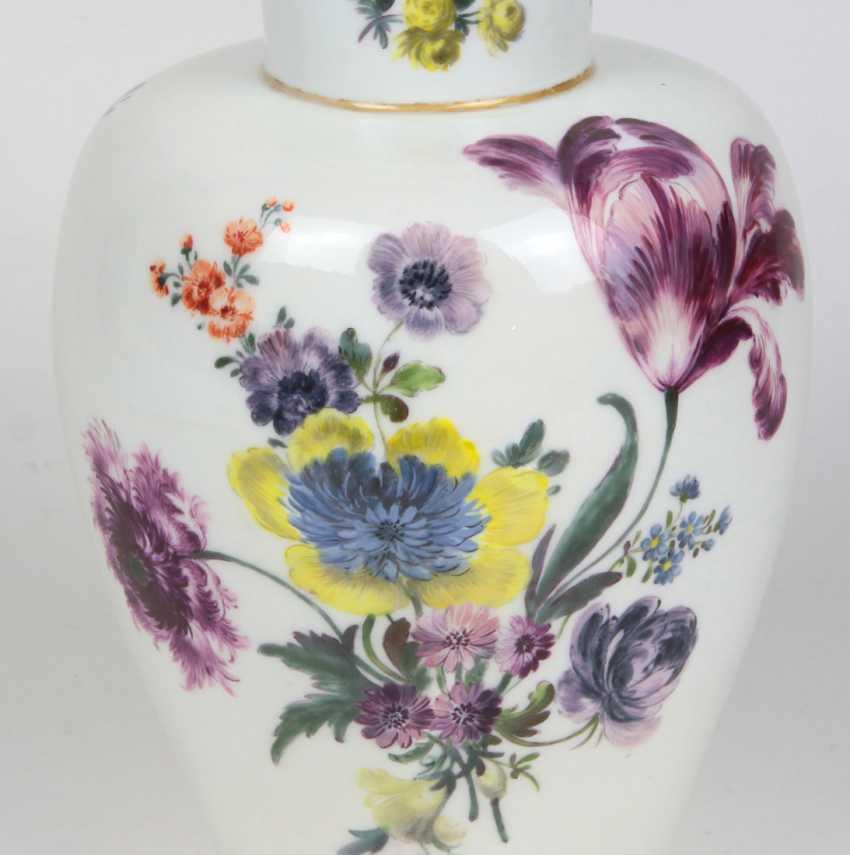 rare AR cover vase Meissen to 1735/40 - photo 3