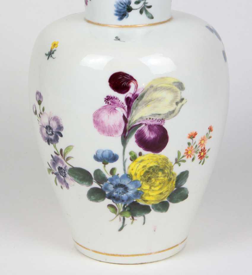 rare AR cover vase Meissen to 1735/40 - photo 2