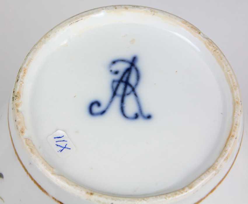 rare AR cover vase Meissen to 1735/40 - photo 4