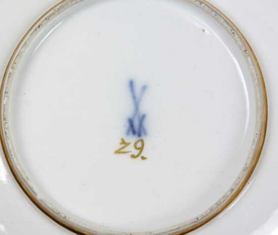 Meissen ceremonial plate Bataille painting to 1740/45 - photo 3