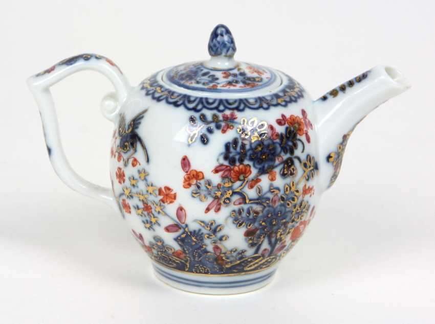 Meissen early pot of Indian painting to 1730/35 - photo 1