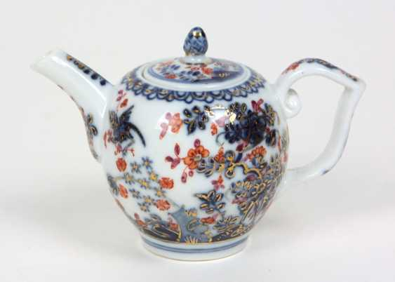 Meissen early pot of Indian painting to 1730/35 - photo 2