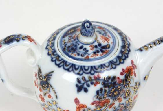 Meissen early pot of Indian painting to 1730/35 - photo 3