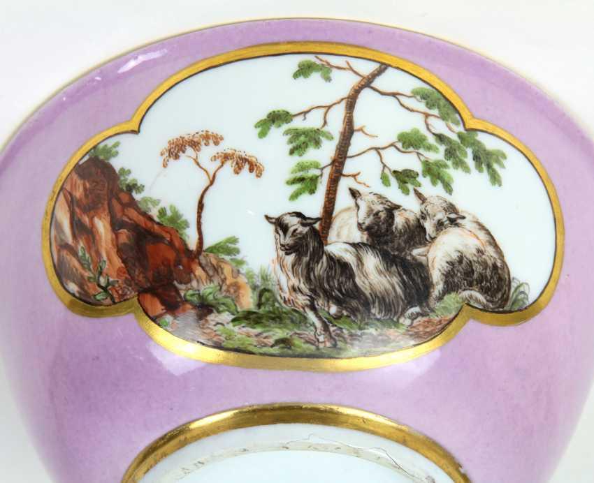 Meissen sumptuous dish to 1740 - photo 3