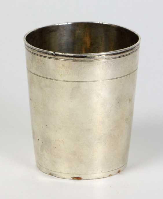 Silver beaker, Augsburg, around 1670 - photo 1
