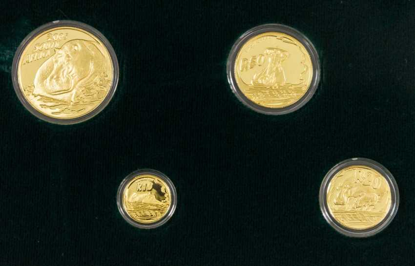 South Africa/GOLD Prestige Set 2005, The Giants of Africa,