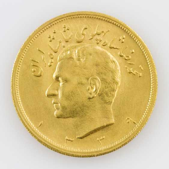 Iran/Gold - 5 Pahlevi 1960, Mohammed Riza Pahlevi - photo 1
