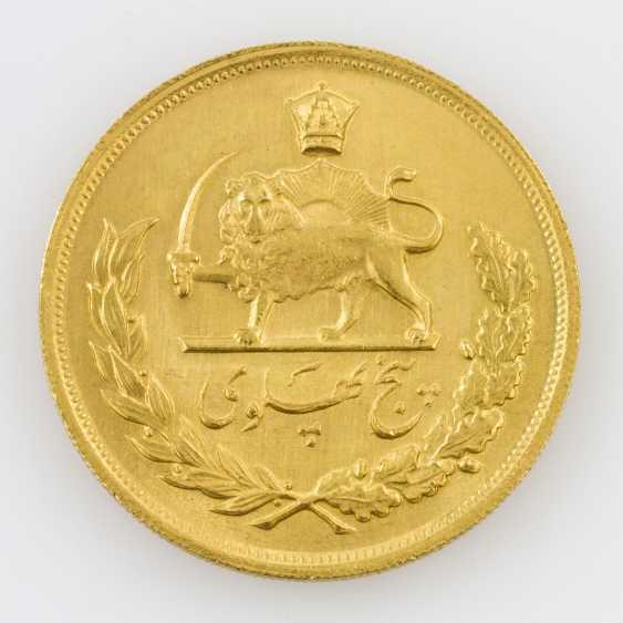 Iran/Gold - 5 Pahlevi 1960, Mohammed Riza Pahlevi