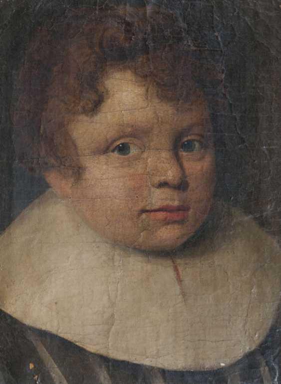 Portrait of a boy. Dutch master, active mid-17th. Century - photo 1