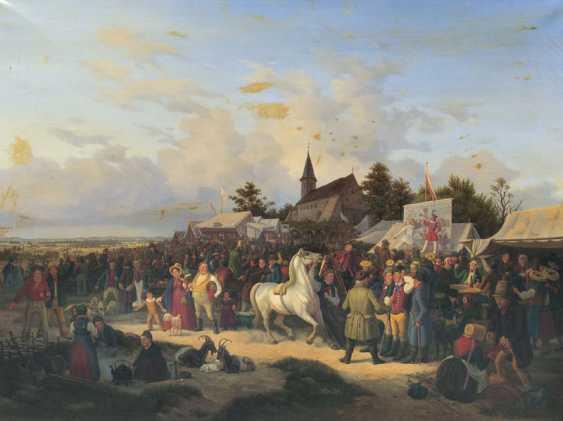 Jahrmarkt. Heinrich Stuhlmann - Foto 1