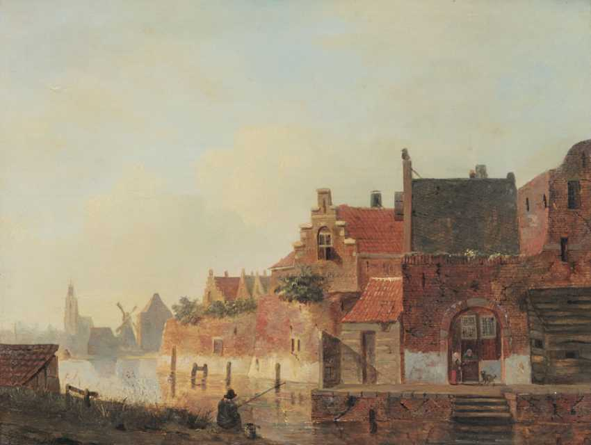 City in the Netherlands. Carel Jacobus Behr - photo 1