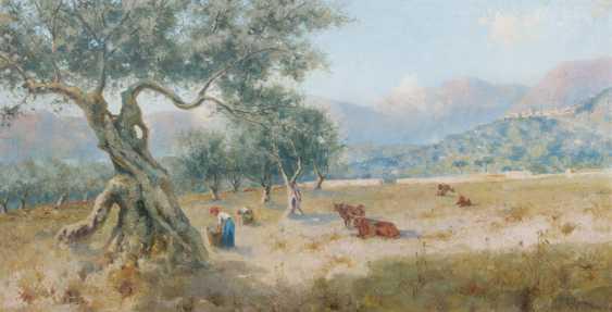 Sicilian Landscape. Erminio Kremp - photo 1