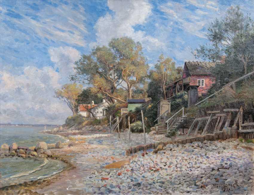 Am Ufer von Aalsgaarde. ViGelbgoldo Langer - photo 1
