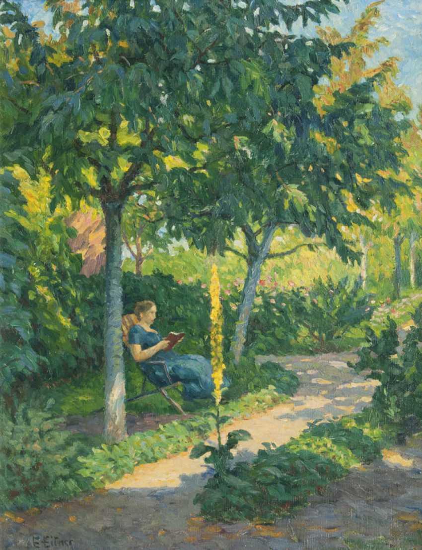 The garden in the summer. Ernst Eitner - photo 1